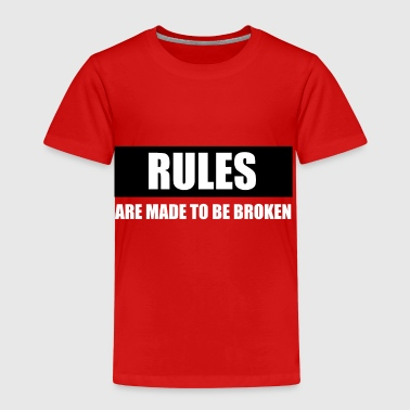 rules - Kinder Premium T-Shirt