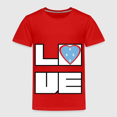 Love Land Roots Micronesia - Kids' Premium T-Shirt