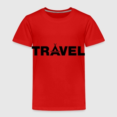 TRAVEL - Statement for tent vacationers - Kids' Premium T-Shirt