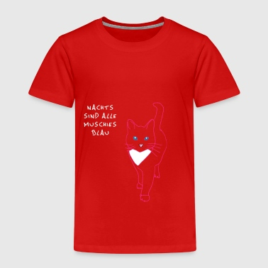 Blue cat - Kids' Premium T-Shirt