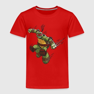 TMNT Turtles Raphael Greift An - Kinder Premium T-Shirt