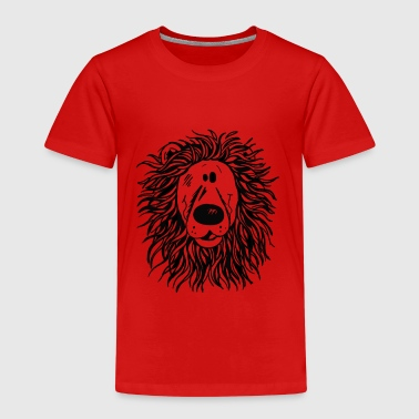 Big Lion - Löwe - Löwenkopf - Kinder Premium T-Shirt