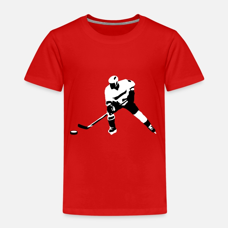 Hockey T-shirts - Ice hockey - T-shirt premium Enfant rouge