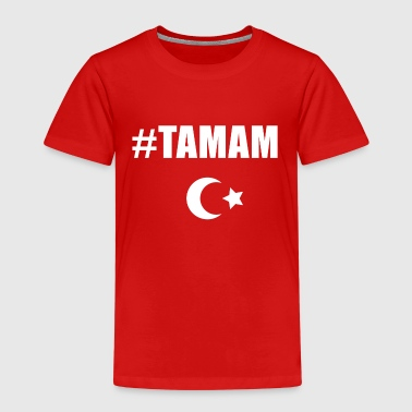 Tamam Erdogan resignation Turkey politics satire - Kids' Premium T-Shirt