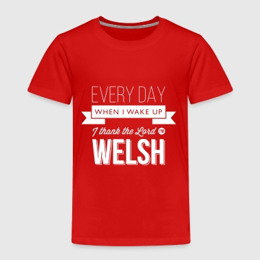 Wales rugby - I thank the Lord I'm Welsh - Kids' Premium T-Shirt