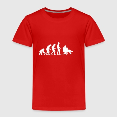 Evolution Business, Büro, Chef, Sessel - Kinder Premium T-Shirt