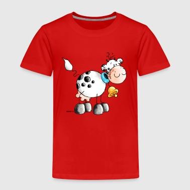 Erna - Vaca - Vacas - Cartoon - Camiseta premium niño