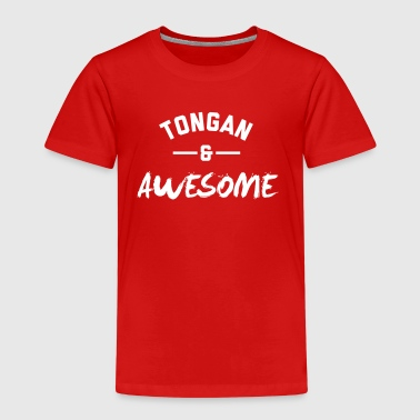 Tongan and Awesome - Kids' Premium T-Shirt