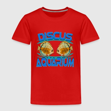 Diskus-Aquarium - Kinder Premium T-Shirt