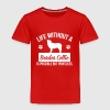 Dog: Life without a Border Collie is pointless - Kinder Premium T-Shirt