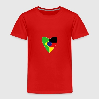 Cultura Brazil Germany T-Shirt German Brazilian - Kids' Premium T-Shirt