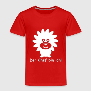 Löwe Kind Kinder Shirt Löwe Der Chef bin ich - Kinder Premium T-Shirt