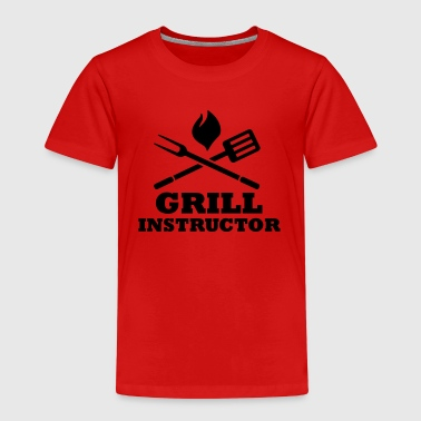 Grill Instructor - Kinder Premium T-Shirt