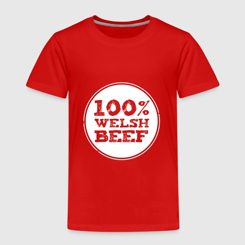 Wales rugby - 100% Welsh Beef - Kids' Premium T-Shirt