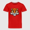 tiger comic - Kinder Premium T-Shirt