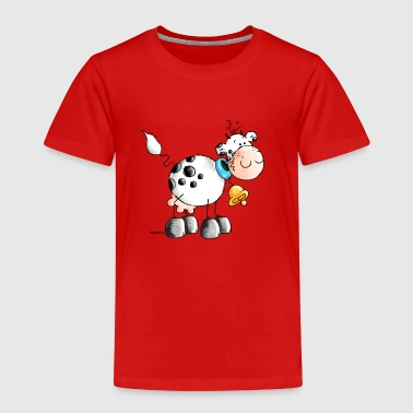 Erna - Kuh - Kühe - Milchkuh - Cartoon - Kinder Premium T-Shirt