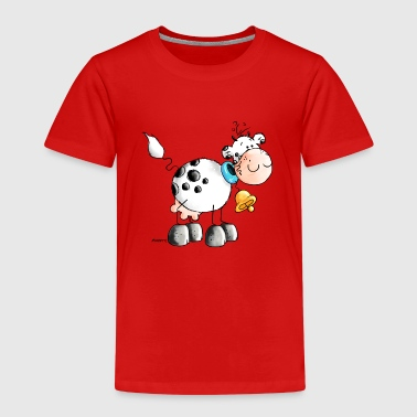 Erna - Ko - Køer - Cartoon - Cow - Børne premium T-shirt