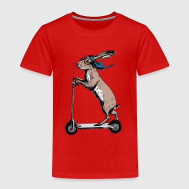 Scooter Hare - Kinder Premium T-Shirt