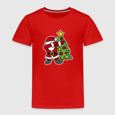 Dabbin' around the Christmas tree - Kids' Premium T-Shirt