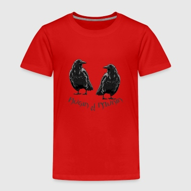 Design Odin Hugin & Munin - Kids' Premium T-Shirt