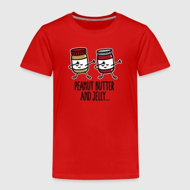 Dabbing dab peanut butter and jelly jar - T-shirt Premium Enfant