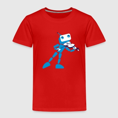 violin player - Kinder Premium T-Shirt