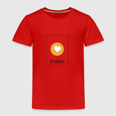 I Love Pittsburgh - Kinderen Premium T-shirt