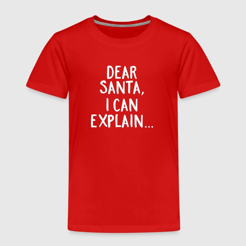 Dear Santa, I Can Explain... - T-shirt Premium Enfant