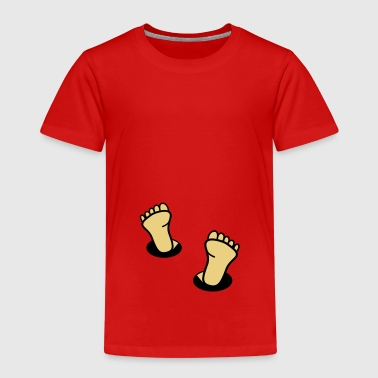 feet - Kids' Premium T-Shirt
