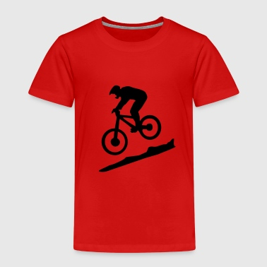 downhill biking - mountain biking - Kinderen Premium T-shirt