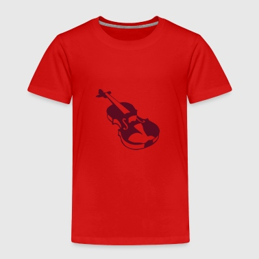 Violin instrument music 190315 - Kids' Premium T-Shirt