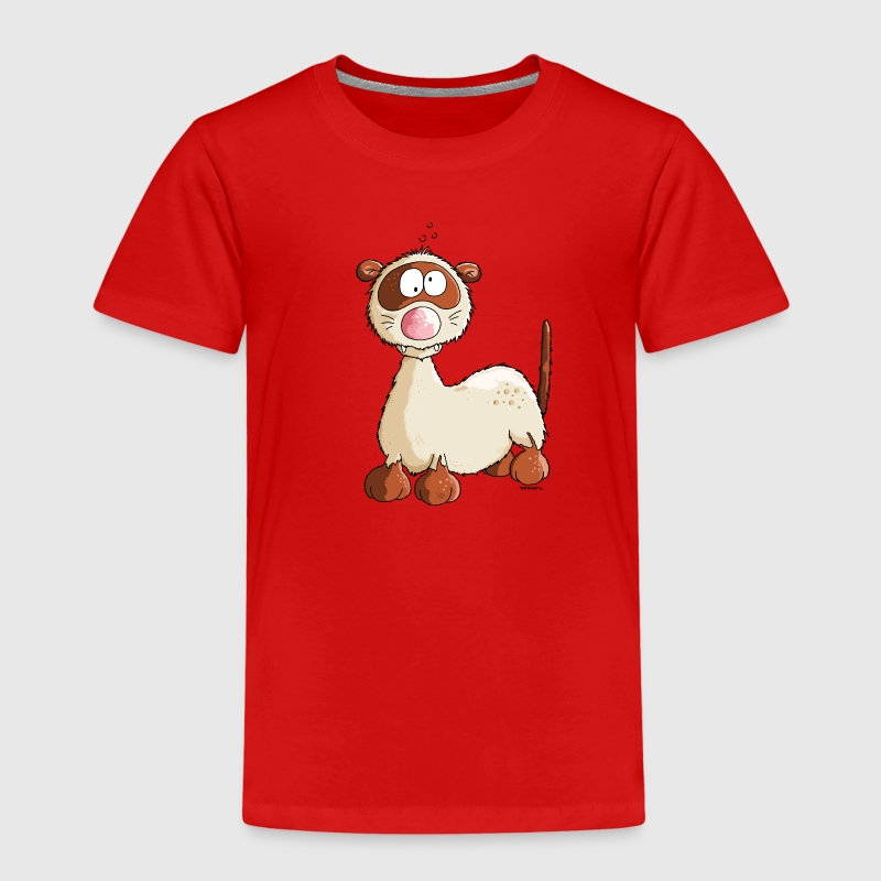 Freddy Frettchen - Comic - Cartoon - Kinder Premium T-Shirt