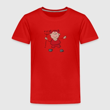 Naughty, cute little devil - Kids' Premium T-Shirt
