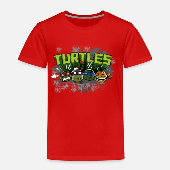 Officialbrands T-Shirts - Kids Premium Shirt 'TURTLES' - Kids' Premium T-Shirt red