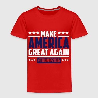 Donald Trump Make america great again trump 2016 - Kinder Premium T-Shirt