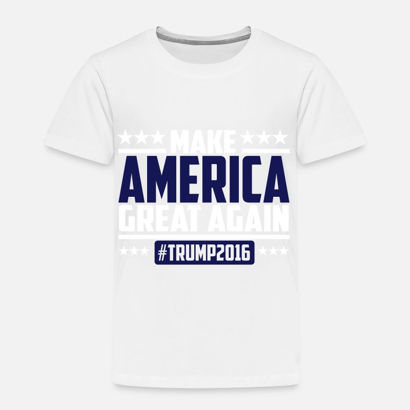 Hillary Clinton for President T-Shirt Girls Black USA Wahlen Trump Obama America