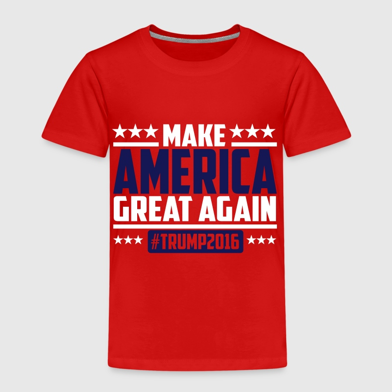 Make america great again trump 2016 - Lasten premium t-paita