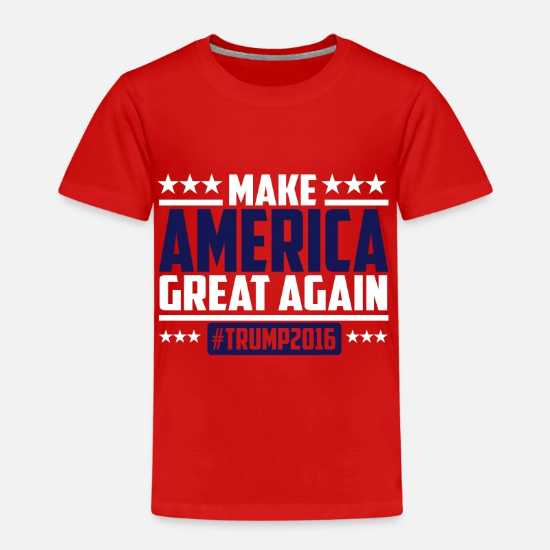 Trump T-shirts - Make america great again trump 2016 - T-shirt premium Enfant rouge