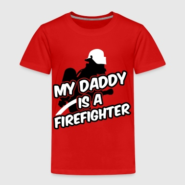 My daddy is a firefighter - Kinderen Premium T-shirt