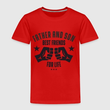 Father and Son best friends for life - Kinderen Premium T-shirt