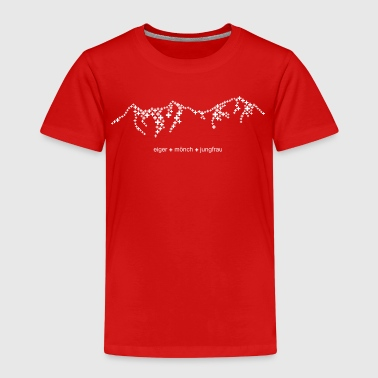 Eiger Mönch Jungfrau - in cool swissness design - Kids' Premium T-Shirt