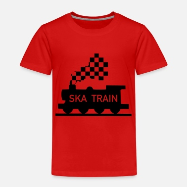 Ska ska train - Kids' Premium T-Shirt