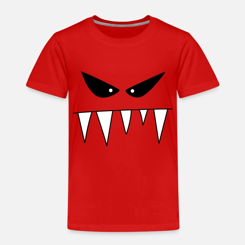 Bestsellers Q4 2018 T-Shirts - wicked monster - Kids' Premium T-Shirt red