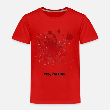 Bloodstain Bloodstains Halloween - Kids' Premium T-Shirt