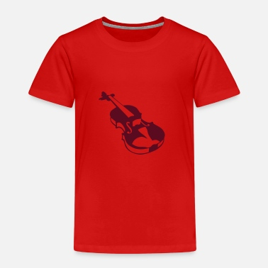 Instrument Violin instrument music 190315 - Kids' Premium T-Shirt