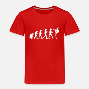 Turnerin Gymnastik Turnen Evolution Bodenturnen Geschenk - Kinder Premium T-Shirt