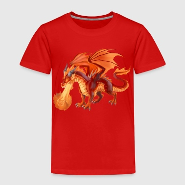 fire dragon - Kinder Premium T-Shirt