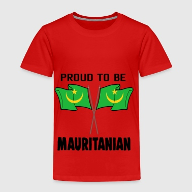 Proud to be land heimat Mauretanien - Kinder Premium T-Shirt