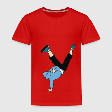 Break Dancer dans - Kinderen Premium T-shirt