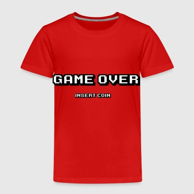 Game over insert coin - Kids' Premium T-Shirt